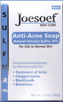 Sulfur Soap for Acne Pharmaceutical Grade Dermatologists FDA Approved for Acne