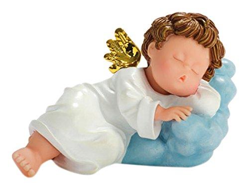 Nadal Figura Decorativa ángel dormilón, Resina, Multicolor, 8.20x14.00x8.50 cm
