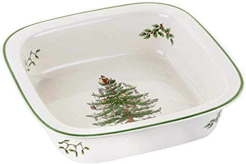 Spode Christmas Tree- 10' Square Baker Dish