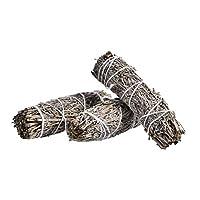 ブルーセージピュアリーフスモーク、お香のセージスマッジスティック、ヨガ、瞑想、室内フレグランス 浄化用