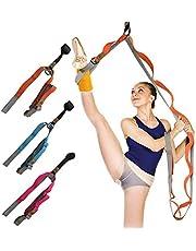 Ruiqas dörr flexibilitet stretchbälte benstretchare rem för yoga balett hej dans gymnastik tränare