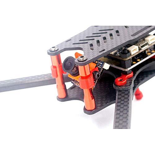 YNSHOU Accesorios de Juguete GS Frame Kit Repuesto 3D Print FPV Micro Cámara Montaje Fijo para RC Drone (J)
