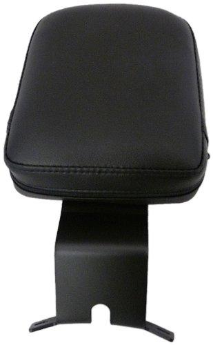 Bestem CHHD-STDLX-DR-B Black Matte Finish Driver Backrest for Harley-Davidson Softail Deluxe