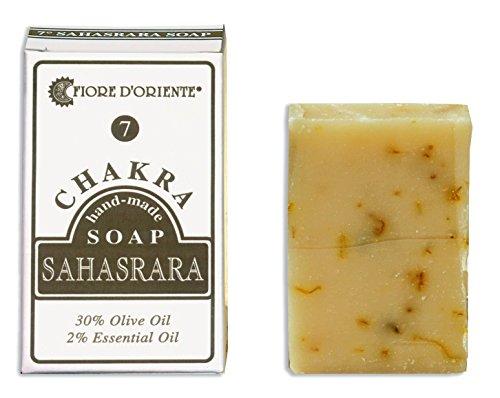 Sahasrara 7° Chakra Soap 70 g. The Chakra rebalancing System, Fiore d'Oriente