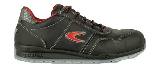 COFRA moderner Sicherheitsschuh, ZATOPEK S3 SRC, im Sneaker-Look (41, schwarz)