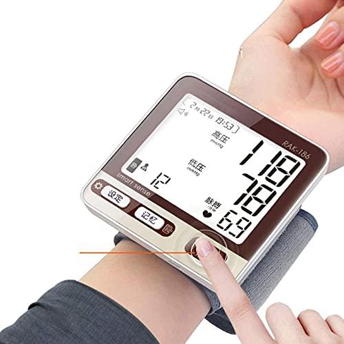 Esfigmomanómetro de brazo superior electrónico, esfigmomanómetro, presión para el hogar, medición de altura electrónica, monitoreo preciso tipo muñeca, medidor de medición, tipo de muñeca