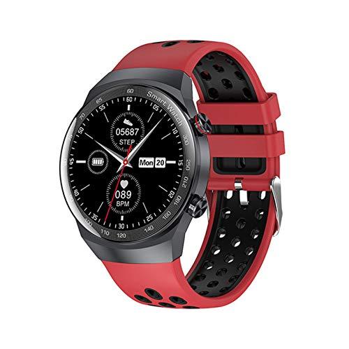 YDK AK26 Música Smartwatch Presión Arterial Bluetooth Llamada Pulsera Smart Watch Tasa De Corazón Sleep Local Play Deportes Pedometp,F