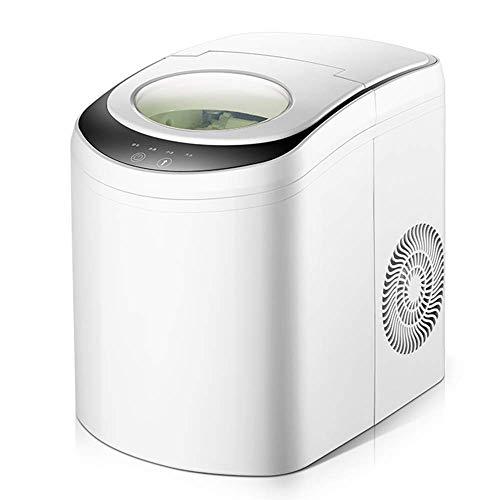 DBSCD Tragbarer Eiswürfelbereiter Eismaschine, 6 Minuten EIS, 33 Pfund pro Tag, Küchenbar Party Tea Shop Ausrüstung Runde EIS automatische Reinigung