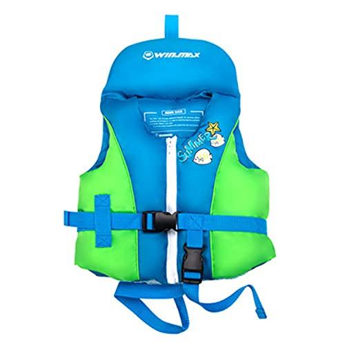 Chaquetas Y Chalecos Salvavidas Salvavidas Chaleco Flotador para Barcos para NiñOs Bebes Infantil Kayak Chaleco de flotabilidad,Blue,L