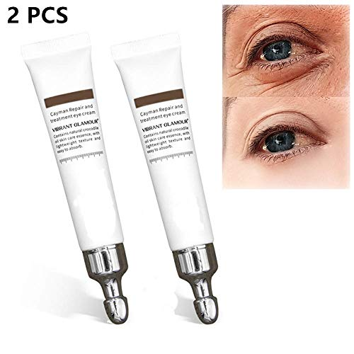 Miracle Anti-Aging Eye Cream,Eye Puffiness Treatment, Instant Results Air Stain Remover, Anti-Wrinkle and Fine Lines, Reduces the appearance of dark circles, crow's feet (2pcs)