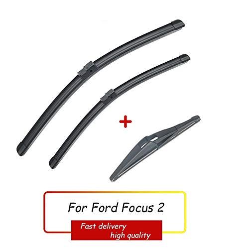 HZHAOWEI Ruitenwisser Voor Achter Ruitenwissers Set, Voor Ford Focus 2 2005-2011 Voorruit Voorruit Voor Achterruit 26