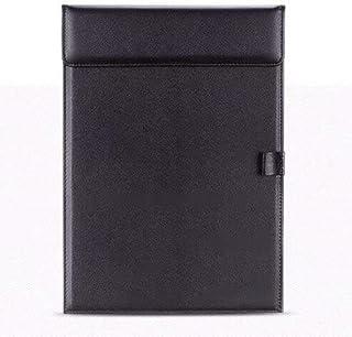Clipboard - Sharkbang Higher Quality PU Leather Business A4 File Folder Writing Board Clip Document Paper Organizer School...