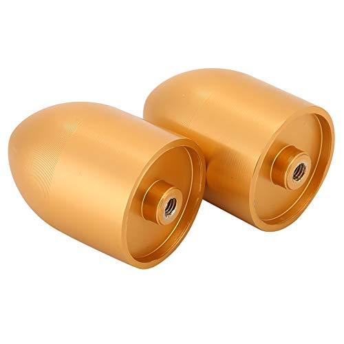 Oumefar Reines Aluminium 35 Core Staubdichter Schusskopf Tragbare Staubschutzkappe Staubdichte Kappe Geräuscharm für Lautsprecher