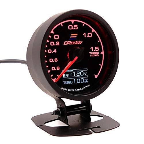 12V Modificación del coche Universal Instrument Racing Tacómetro especial Temperatura del agua Temperatura del aceite Presión hidráulica Turbina Aspiradora Mesa de puntero,Turbo