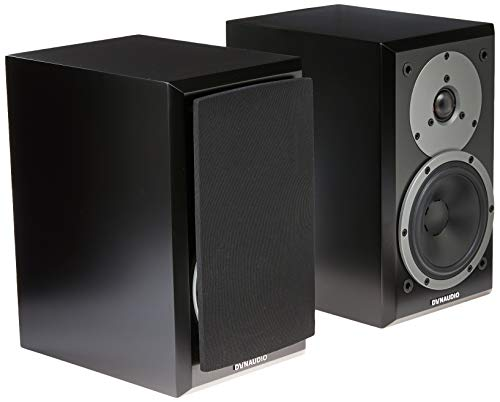 DYNAUDIO EMIT M10 BOOKSHELF SPEAKER - PAIR - SATIN BLACK