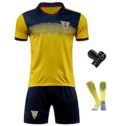 CWWAP Uniforme de fútbol de Ecuador 2020 para niños, Traje de Entrenamiento de fútbol del Equipo Nacional, personalización de Jersey de fútbol de poliéster no Requiere Dinero adicional-28
