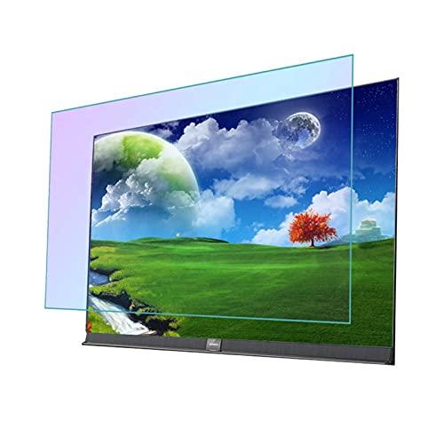 AMDHZ Adecuado para LCD, LED, 4K OLED y QLED, Protector de Pantalla película Anti luz Azul para TV, Antiarañazos, Aliviar la Fatiga Ocular (Color : Matte Version, Size : 55 Inch 1211X682mm)