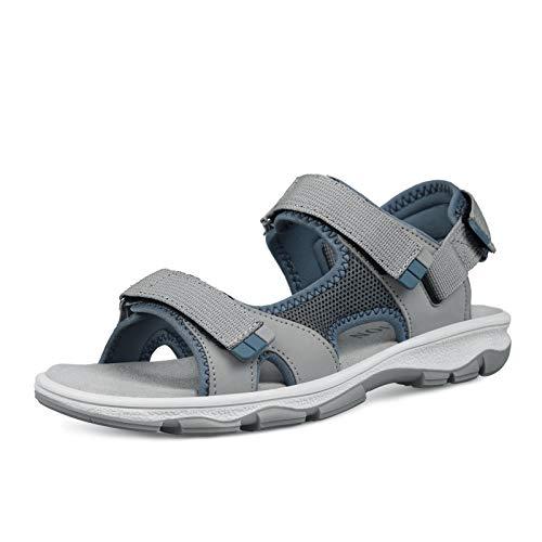 Grition Sandalo da trekking estivo da donna open toe comodo sandalo da passeggio all'aperto, sandali da spiaggia comfort.