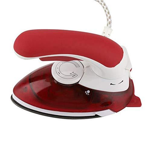 Dampfbügeleisen, Kleidung-Kleid mit Hand Stoff Dampfer Falten-Entferner mit schnellen Wärme-up Funktion for Home und Travel Aufhängemaschine (rot) (Color : Red, Size : 220V)