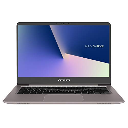 "ASUS ZenBook UX410UA-GV426 - Portátil de 14"" FullHD (Intel Core i7-8550U, 8GB RAM, 128GB SSD + 1TB HDD, Sin sistema operativo) Gris Cuartzo - Teclado QWERTY Español"