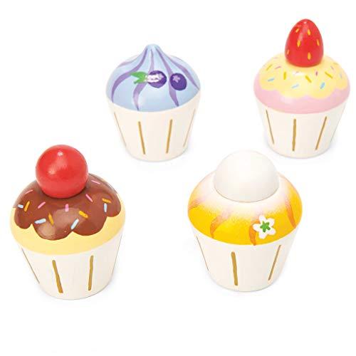Le Toy Van-Fai Finta di Giocare Cupcakes, Colore, TV331