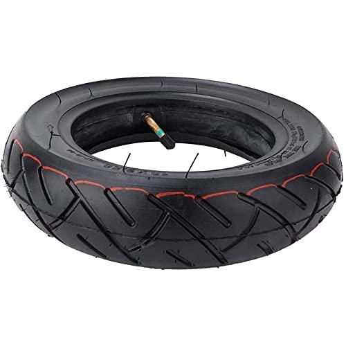 Neumático Inflable para Scooter, neumático Exterior de Goma Maciza de 10 Pulgadas y Juego de Tubo Interior Neumáticos de Repuesto Ligeros para Scooter