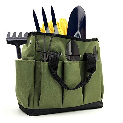 Ledeak Garden Tool Bag, Deluxe Multifunctional Portable Household Gardening...