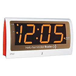 Life Assistant Technologies Reminder Rosie Talking Alarm Clock with Personalized Voice Reminders