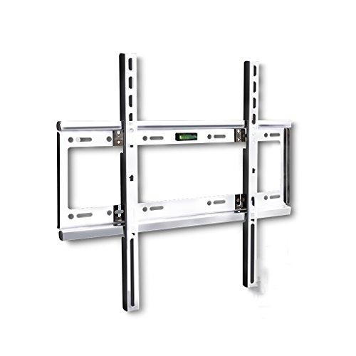 KLEDDP TV-Rack Universal-Edelstahl-LCD, Fest Montierte TV-Wandhalterung, 14-32 Zoll, 26-55 Zoll, 32-65 Zoll Wand Bücherregal (Size : 26-55Inch)