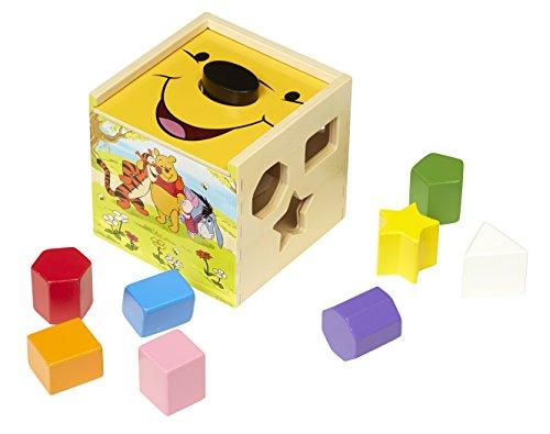 Melissa & Doug Winnie the Pooh Shape Sorting Cube