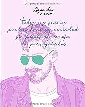 Agenda 2018-2019: Agosto 2018 - julio 2019, Semana vista - dos páginas por semana, diseño de moda (Agenda semanal y mensual) (Spanish Edition)