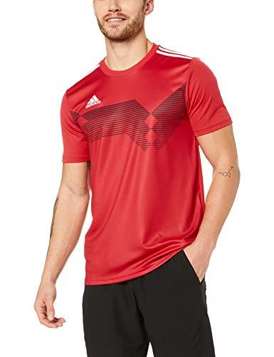 adidas Herren CAMPEON19 JSY T-shirt, power red/White, XL