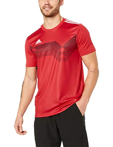 adidas Herren CAMPEON19 JSY T-shirt, power red/White, XL