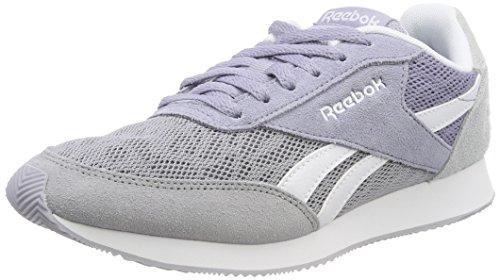 Reebok Damen Royal Classic Jogger 2 Sneaker, Violett (Cool Shadow/Purple Fog/Cloud Grey/White), 36 EU