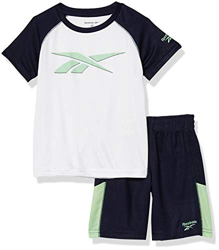 Reebok Boys' Shorts Set, 2984 Navy, 2T