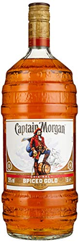 Captain Morgan Original Spiced Gold Rumverschnitt (1 x 1.5 l)