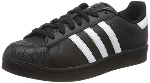 adidas Herren Superstar Foundation Sneaker, Schwarz (Black B27140), 41 1/3 EU
