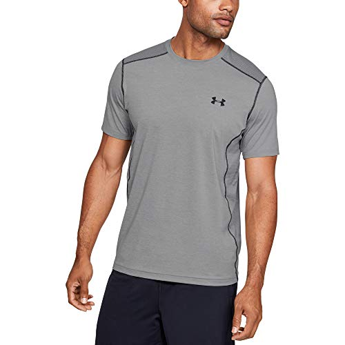 Under Armour Herren T-Shirt Raid,grau(True Gray Heather/Black 025),M