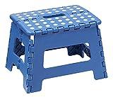 Arregui TB-022-A Taburete Plegable Multiuso, 22 cm de altura, azul