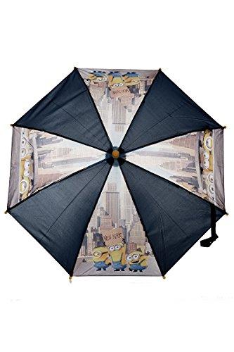 Party Factory Minions Despicable Me Regenschirm für Kinder in Schwarz/Gelb