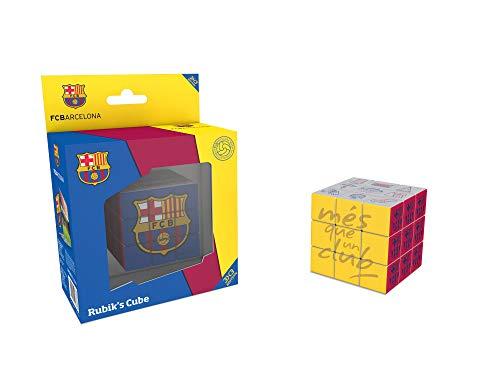 FCB FCBARCELONA Rubiks, Cubo Rubik'S 3x3 de FC Barcelona (34809), Multicolor