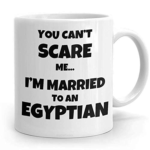 PassionWear EGYPTIAN HUSBAND REGALO para taza egipcia Regalo de esposa egipcia Regalo divertido de Egipto Egipcio