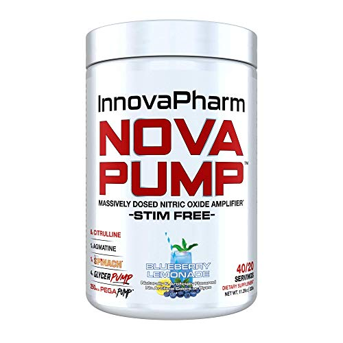 NOVAPUMP (Blueberry Lemonade) 11.29 ounces