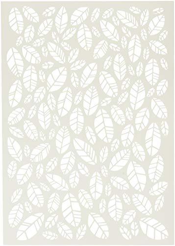 Carabelle Studio Art sjabloon sjabloon, bladeren, voor het maken van patronen achtergronden en kunstwerken voor ambachtelijke projecten, meerkleurig, één maat