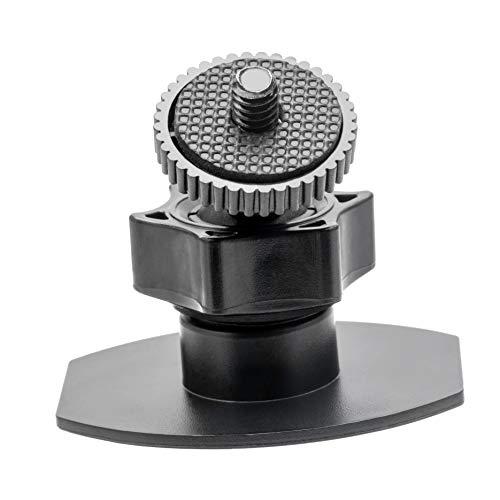 Soporte de pared para trípode de 1/4 tornillo sin taladro para indicador de válvula/HTC Vive/Vive PRO estación base, equipado con fuerte adhesivo de doble cara