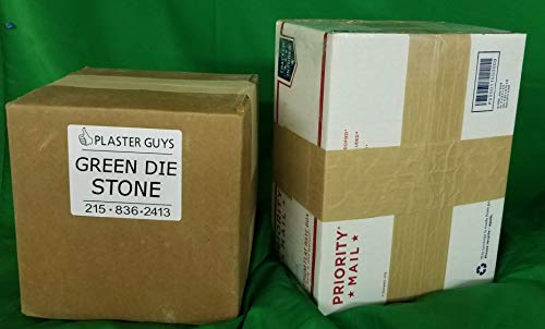 Green Dental Die Stone 25 Lb Bag - Type 4 (IV) - Model Stone for Dental Laboratory and Dental Office from Manufacturer! Made in The USA! …
