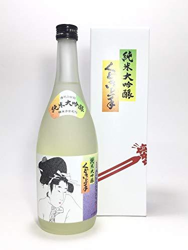 亀の井酒造『くどき上手(くどきじょうず)純米大吟醸』