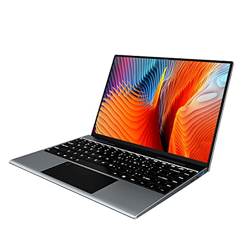 13.5 Pollici Pc Portatile, 8GB RAM 256GB SSD Notebook, Intel Pentium J3710 CPU Impronta Digitale Sblocco Laptop , Notebook Windows 10 Schermo 3000 * 2000 3K FHD, Pc Portatile in Offerta 2.4 5G WiFi