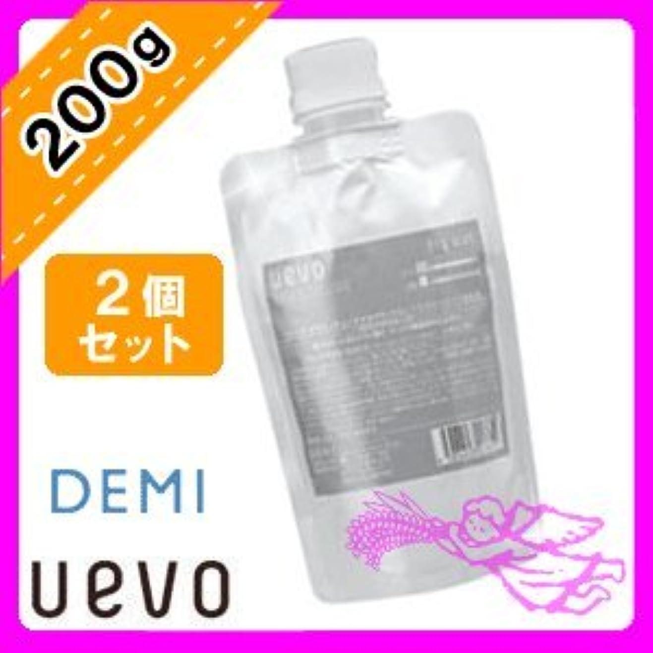 イタリック相続人洗剤デミ ウェーボ デザインキューブ ドライワックス 200g×2個セット 業務用 demi uevo