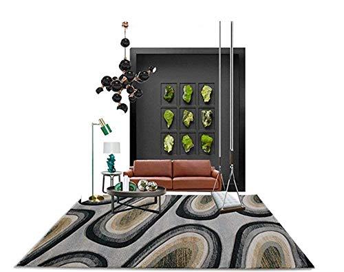 GEDTFC Moderne Simplicité Tapis Rectangulaire Salon Table Basse Canapé Couverture Table à Thé Chambre À Coucher Home Tapis Yoga Mat (Size : 80 cm × 150 cm)